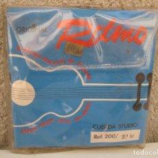Instrumentos musicales: LOTE DE 6 CUERDAS PARA GUITARRA DE LA MARCA RITMO.. Lote 61422691
