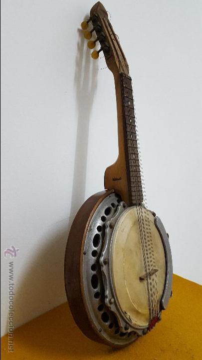 Instrumentos musicales: Banjo antiguo SALTARELLO - Foto 3 - 54788021
