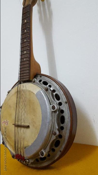 Instrumentos musicales: Banjo antiguo SALTARELLO - Foto 5 - 54788021