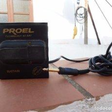 Instrumentos musicales: PEDAL PARA GUITARRA ELECTRICA PROEL SUSTAIN. Lote 62081148