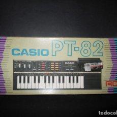 Instrumentos musicales: ORGANO PIANO CASIO PT-82 PERFECTO ESTADO Y FUNCIONANDO,VER FOTOS, JOYA COLECCIONISTAS.. Lote 62188448