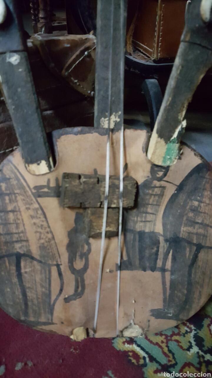 Instrumentos musicales: BONITO INSTRUMENTO DE CUERDAS KORA AFRICANO - Foto 2 - 236992820