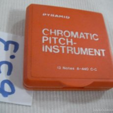 Instrumentos musicales: ANTIGUO CHROMATIC PITCH INSTRUMENT. Lote 96912331
