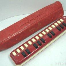 Instrumentos musicales: ANTIGUA MELODICA - HOHNER ALTO - MADE IN GERMANY + ESTUCHE ORIGINAL ¡¡FUNCIONANDO¡¡¡ FLAUTA TECLADO. Lote 82682866