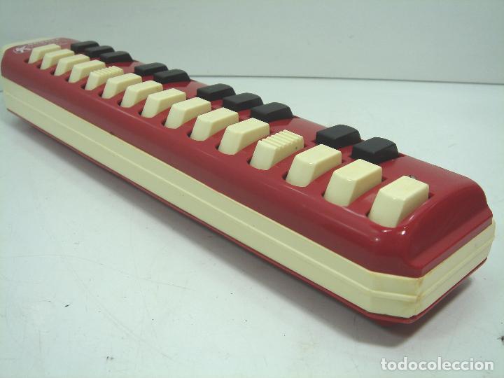 Instrumentos musicales: ANTIGUA MELODICA - HOHNER ALTO - MADE IN GERMANY + ESTUCHE ORIGINAL ¡¡FUNCIONANDO¡¡¡ FLAUTA TECLADO - Foto 5 - 82682866