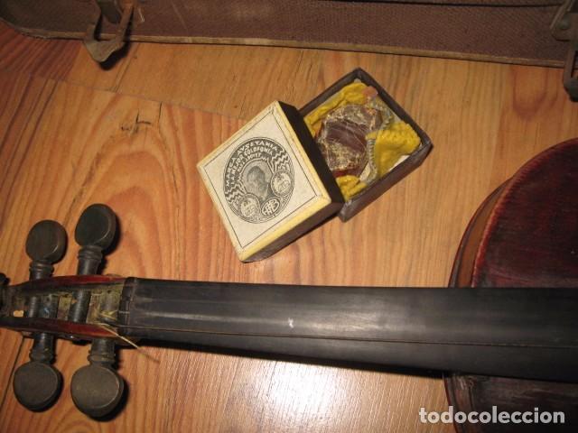 Instrumentos musicales: Ocasión Violín antiguo con funda para restaurar medida 59 cm.- madera buen estado - Foto 4 - 63677799