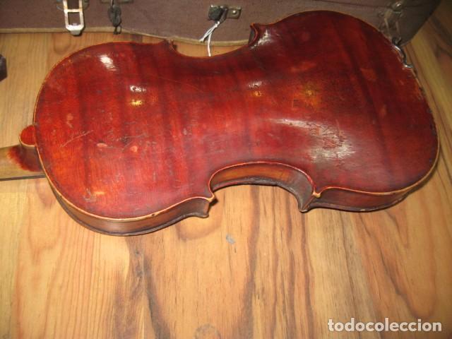 Instrumentos musicales: Ocasión Violín antiguo con funda para restaurar medida 59 cm.- madera buen estado - Foto 7 - 63677799