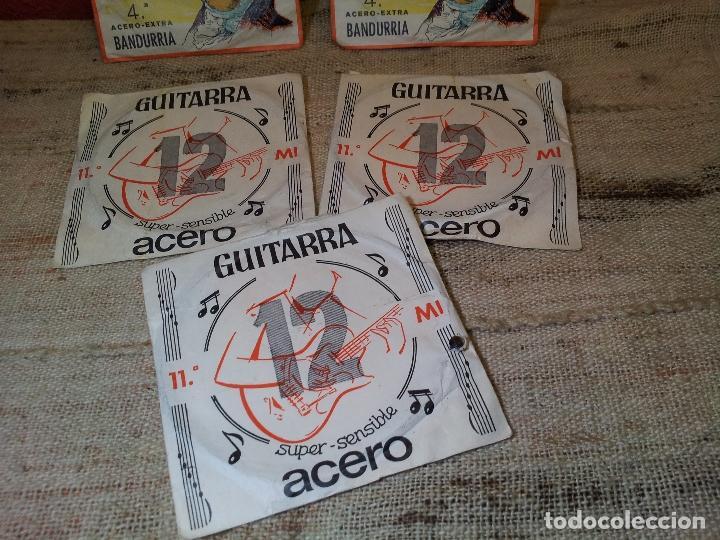Instrumentos musicales: LOTE CUERDAS VARIADAS GUITARRA,,,SUELTAS 5 UNIDADES - Foto 2 - 64497967