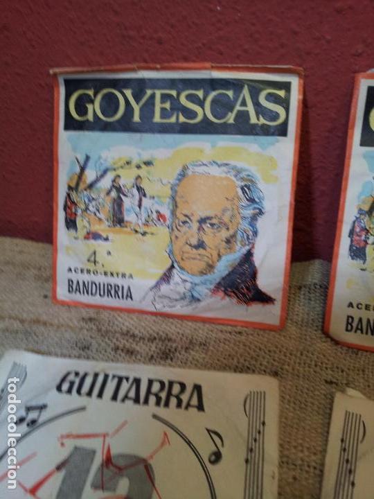 Instrumentos musicales: LOTE CUERDAS VARIADAS GUITARRA,,,SUELTAS 5 UNIDADES - Foto 3 - 64497967