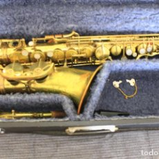 Instrumentos musicales: SAXOFON ALTO PARROT, MADE IN CHINA. Lote 64571795
