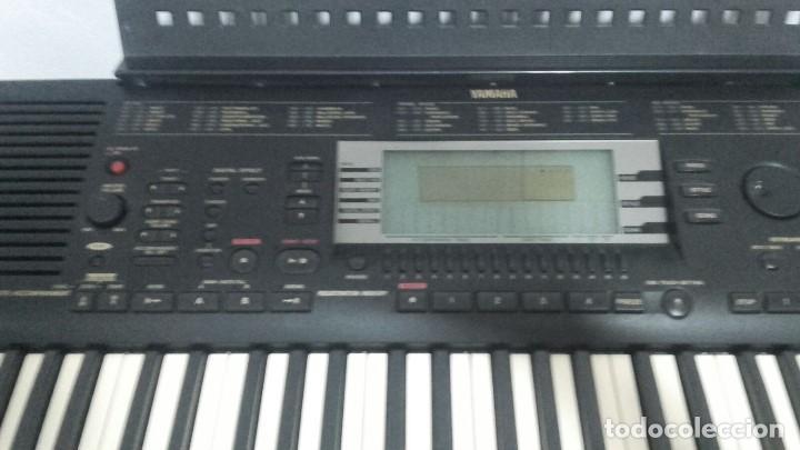 Instrumentos musicales: TECLADO PIANO YAMAHA PORTATONE PSR630 - Foto 2 - 208453373
