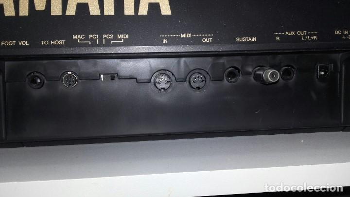 Instrumentos musicales: TECLADO PIANO YAMAHA PORTATONE PSR630 - Foto 4 - 208453373