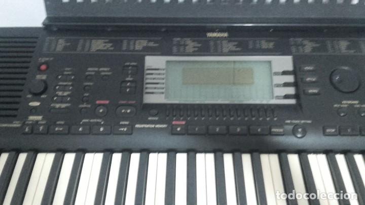 Instrumentos musicales: TECLADO PIANO YAMAHA PORTATONE PSR630 - Foto 5 - 208453373