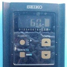 Instrumentos musicales: METRONOMO PROFESIONAL SEIKO DM-20 (NUEVO). Lote 65014791