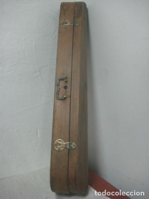 Instrumentos musicales: TREMENDO VIOLIN DEL SIGLO XVIII EN SU MALETIN ORIGINAL Y CON SU ARCO DE ORIGEN BULGARO, EXCELENTE - Foto 22 - 65749850