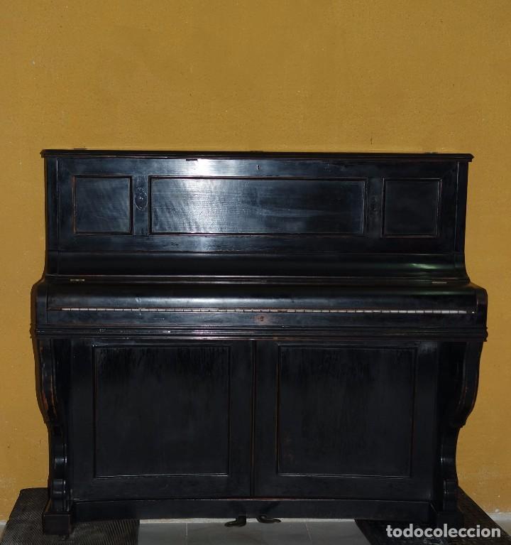 PIANO VERTICAL. REF. 5925 (Música - Instrumentos Musicales - Pianos Antiguos)