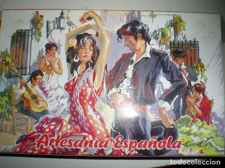 Instrumentos musicales: castañuelas nuevas sin uso hecha en España souvenir años 70 tarrega valencia - Foto 4 - 68179561