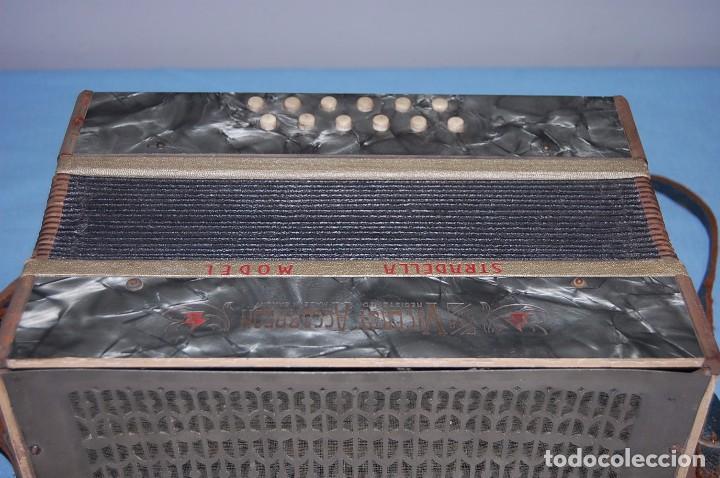 Instrumentos musicales: ANTIGUO ACORDEÓN - Foto 4 - 68330777