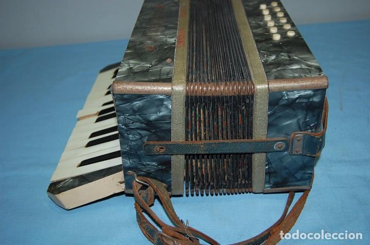 Instrumentos musicales: ANTIGUO ACORDEÓN - Foto 5 - 68330777