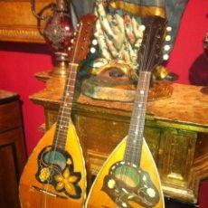 Instrumentos musicales: PAREJA MANDOLINAS NAPOLITANAS FINALES DEL SIGLO XVIII. Lote 68380794
