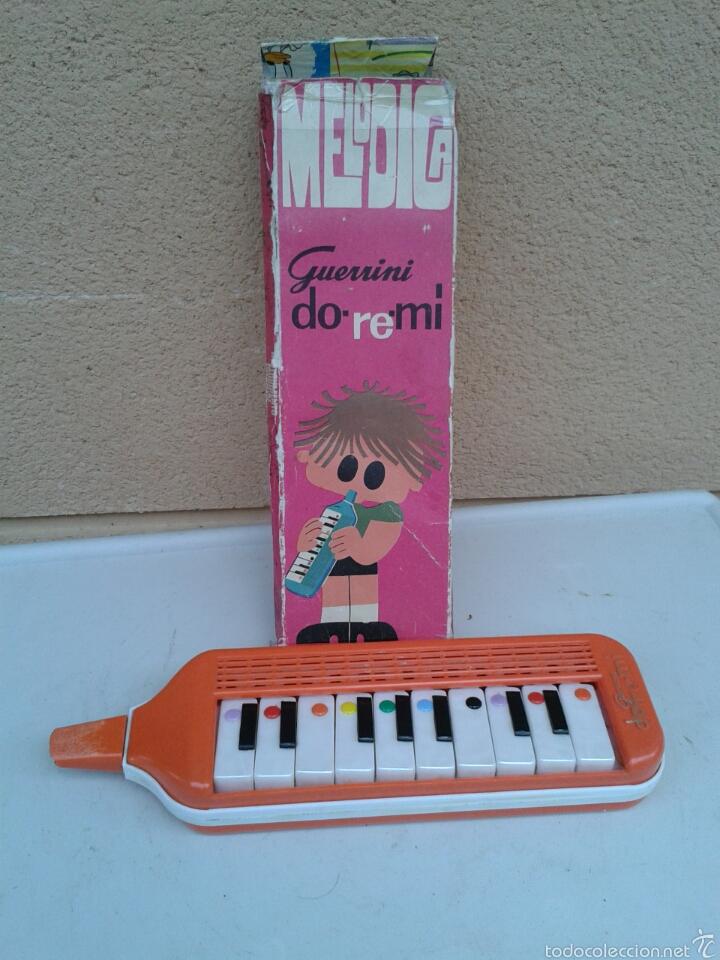 FLAUTA MELODICA GUERINI DO-RE-MI NECESITA CAMBIAR BOQUILLA (Música - Instrumentos Musicales - Viento Madera)