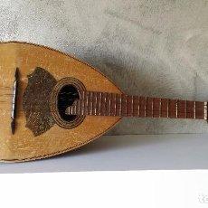 Instrumentos musicales: ANTIGUO LAÚD O MANDOLINA GUILLERMO LLUQUET. Lote 69359873