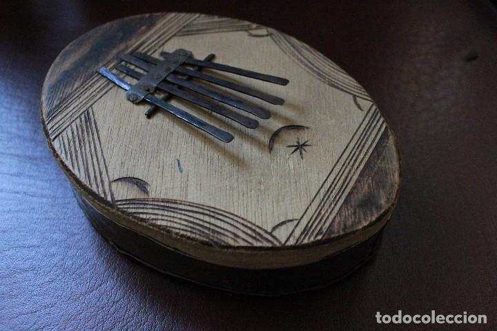 KALIMBA AFRICANA DE 5 TECLAS HECHA A MANO (Música - Instrumentos Musicales - Percusión)