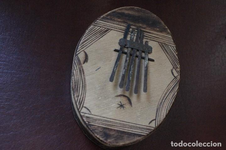 Instrumentos musicales: Kalimba africana de 5 teclas hecha a mano - Foto 7 - 70082481