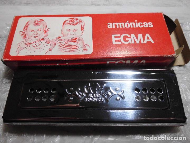 ANTIGUA ARMÓNICA - ARMÓNICAS EGMA (Música - Instrumentos Musicales - Viento Metal)