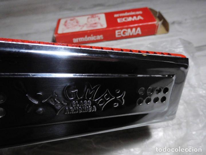 Instrumentos musicales: ANTIGUA ARMÓNICA - ARMÓNICAS EGMA - Foto 2 - 71685787