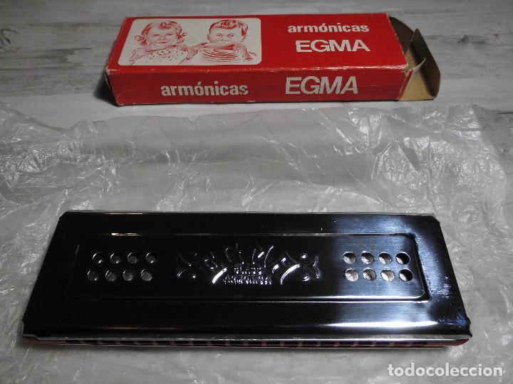 Instrumentos musicales: ANTIGUA ARMÓNICA - ARMÓNICAS EGMA - Foto 3 - 71685787