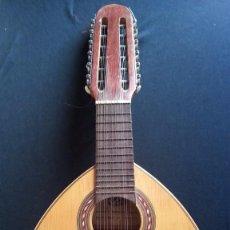 Instrumentos musicales: BANDURRIA, FABRICANTE MARIANO BIU. Lote 71717431