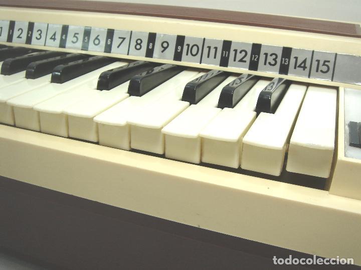Instrumentos musicales: TECLADO ORGANO VIENTO - MARCA NACORAL MOD: VIRTUOSO SPAIN AÑOS 60 - PIANO ELECTRONICO ¡¡FUNCIONANDO¡ - Foto 6 - 72053311