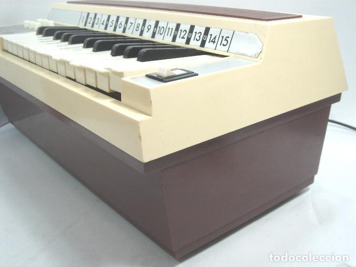 Instrumentos musicales: TECLADO ORGANO VIENTO - MARCA NACORAL MOD: VIRTUOSO SPAIN AÑOS 60 - PIANO ELECTRONICO ¡¡FUNCIONANDO¡ - Foto 7 - 72053311
