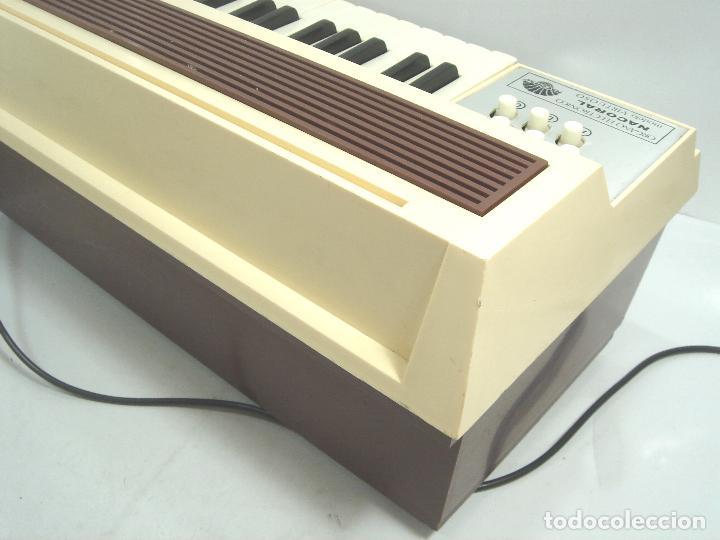 Instrumentos musicales: TECLADO ORGANO VIENTO - MARCA NACORAL MOD: VIRTUOSO SPAIN AÑOS 60 - PIANO ELECTRONICO ¡¡FUNCIONANDO¡ - Foto 9 - 72053311