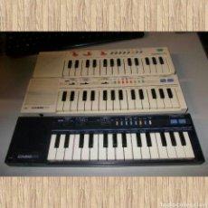 Instrumentos musicales: LOTE 3 TECLADOS CASIO, PARA PIEZAS NO FUNCIONAN EXCEPTO UNO, LEER DESCRIPCIÓN.. Lote 72929293