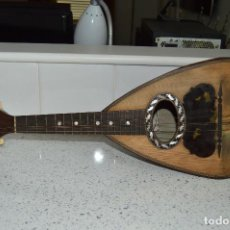 Instrumentos musicales: ANTIGUA MANDOLINA ¨CARMINE SILVESTRI¨, NAPOLES, 1901, CLAVIJERO MARFIL.. Lote 73780211