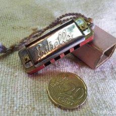Instrumentos musicales: ANTIGUA Y MINUSCULA MINI MINIATURA ARMONICA MARCA ESPAÑOLA ESTRELLA . Lote 75932803