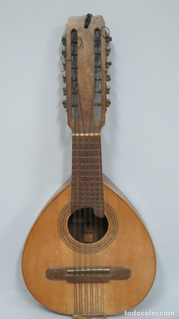 Instrumentos musicales: BANDURRIA DE JOSE RAMIREZ. 1946 - Foto 2 - 76958909