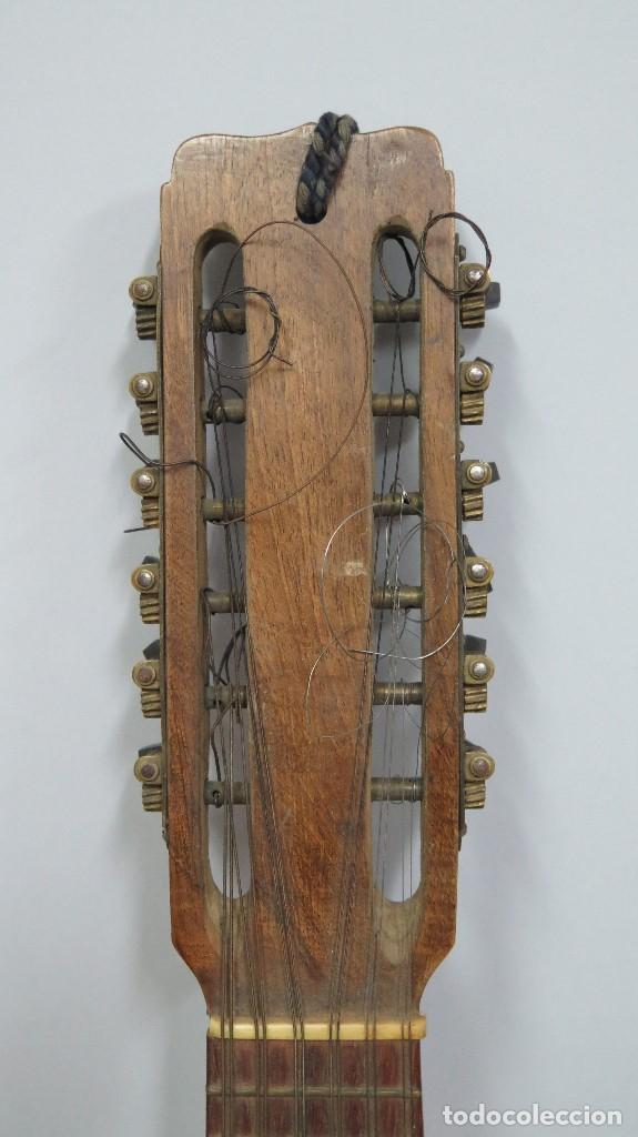 Instrumentos musicales: BANDURRIA DE JOSE RAMIREZ. 1946 - Foto 4 - 76958909