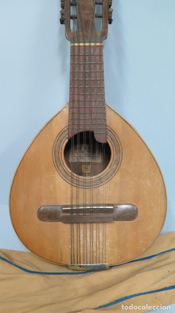 Instrumentos musicales: BANDURRIA DE JOSE RAMIREZ. 1946 - Foto 10 - 76958909