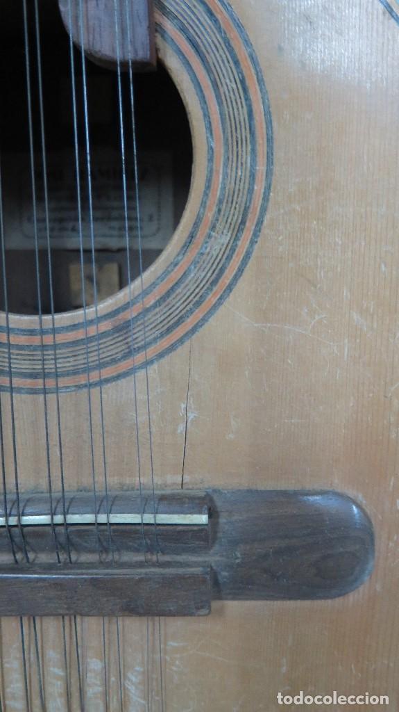 Instrumentos musicales: BANDURRIA DE JOSE RAMIREZ. 1946 - Foto 11 - 76958909