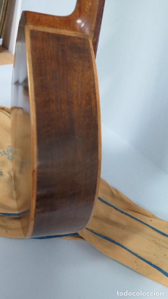 Instrumentos musicales: BANDURRIA DE JOSE RAMIREZ. 1946 - Foto 14 - 76958909