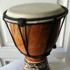 Instrumentos musicales: INSTRUMENTO MÚSICA AFRICANO. PERCUSIÓN. PRECIOSO OBJETO DE DECORACIÓN:. Lote 77823689