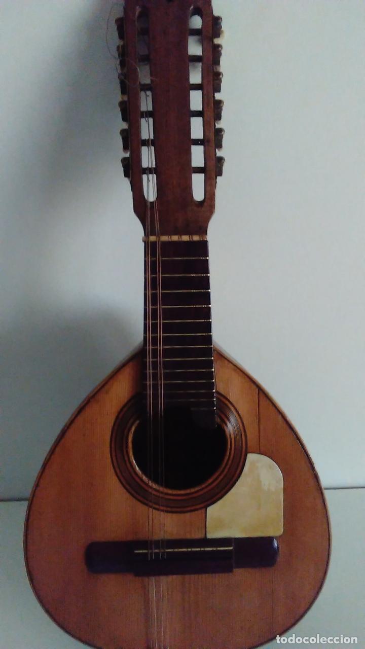 BANDURRIA DE LA FÁBRICA DE JOSÉ RAMIREZ DEL AÑO 1946 (Música - Instrumentos Musicales - Cuerda Antiguos)
