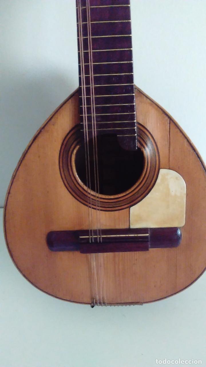 Instrumentos musicales: Bandurria de la fábrica de José Ramirez del año 1946 - Foto 5 - 57342219