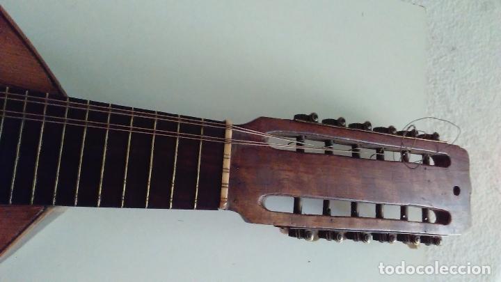 Instrumentos musicales: Bandurria de la fábrica de José Ramirez del año 1946 - Foto 6 - 57342219