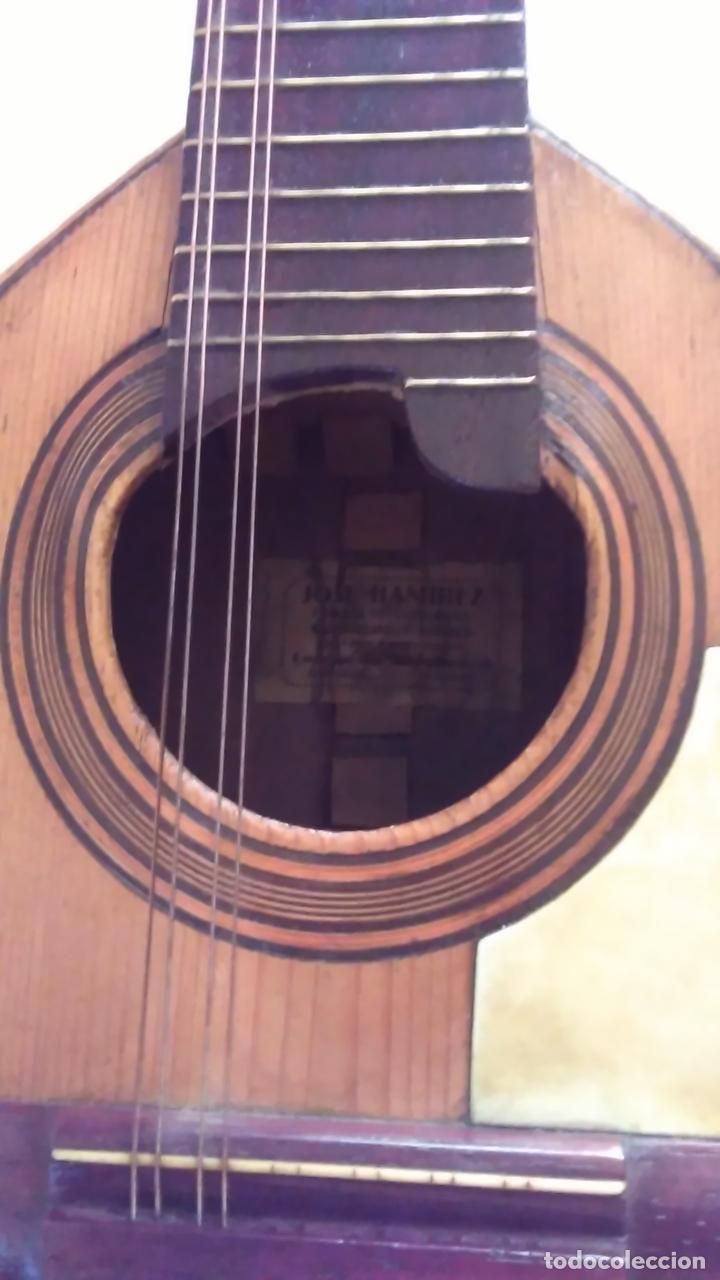 Instrumentos musicales: Bandurria de la fábrica de José Ramirez del año 1946 - Foto 7 - 57342219