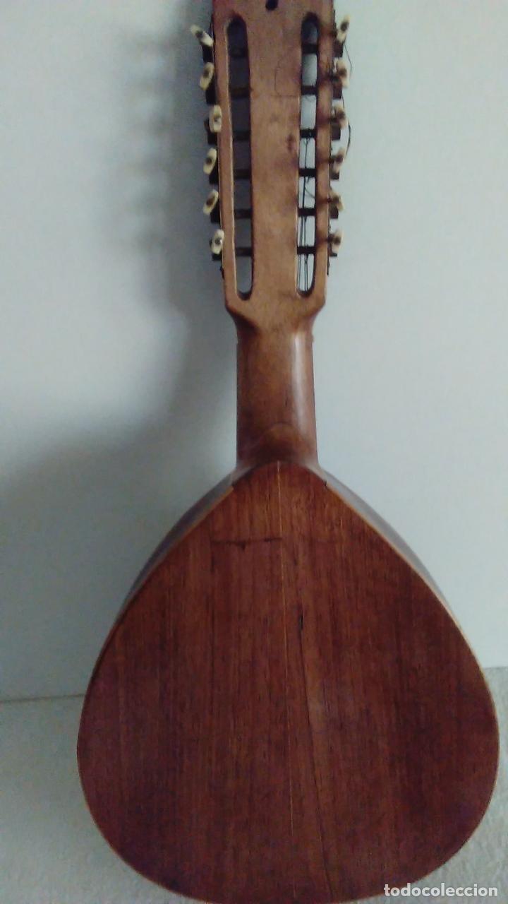 Instrumentos musicales: Bandurria de la fábrica de José Ramirez del año 1946 - Foto 9 - 57342219