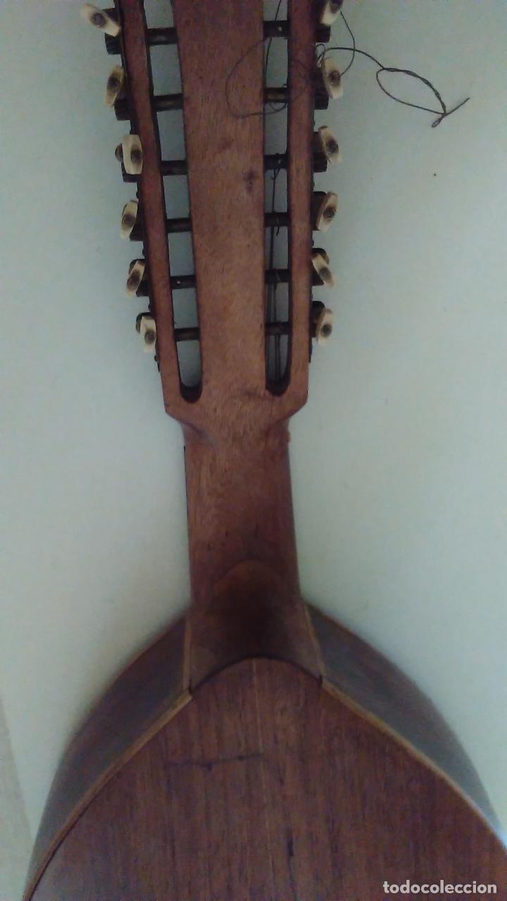 Instrumentos musicales: Bandurria de la fábrica de José Ramirez del año 1946 - Foto 11 - 57342219